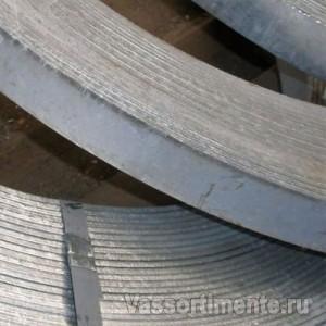 Полоса горячеоцинкованная 40х4 мм в бухте ГОСТ 103-2006